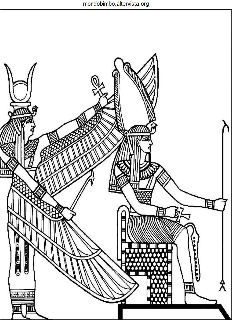 Image Result For Egyptian Coloring Pages