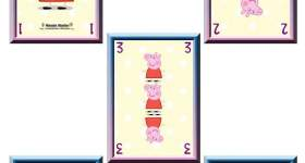 carte da gioco peppa pig stampare 1