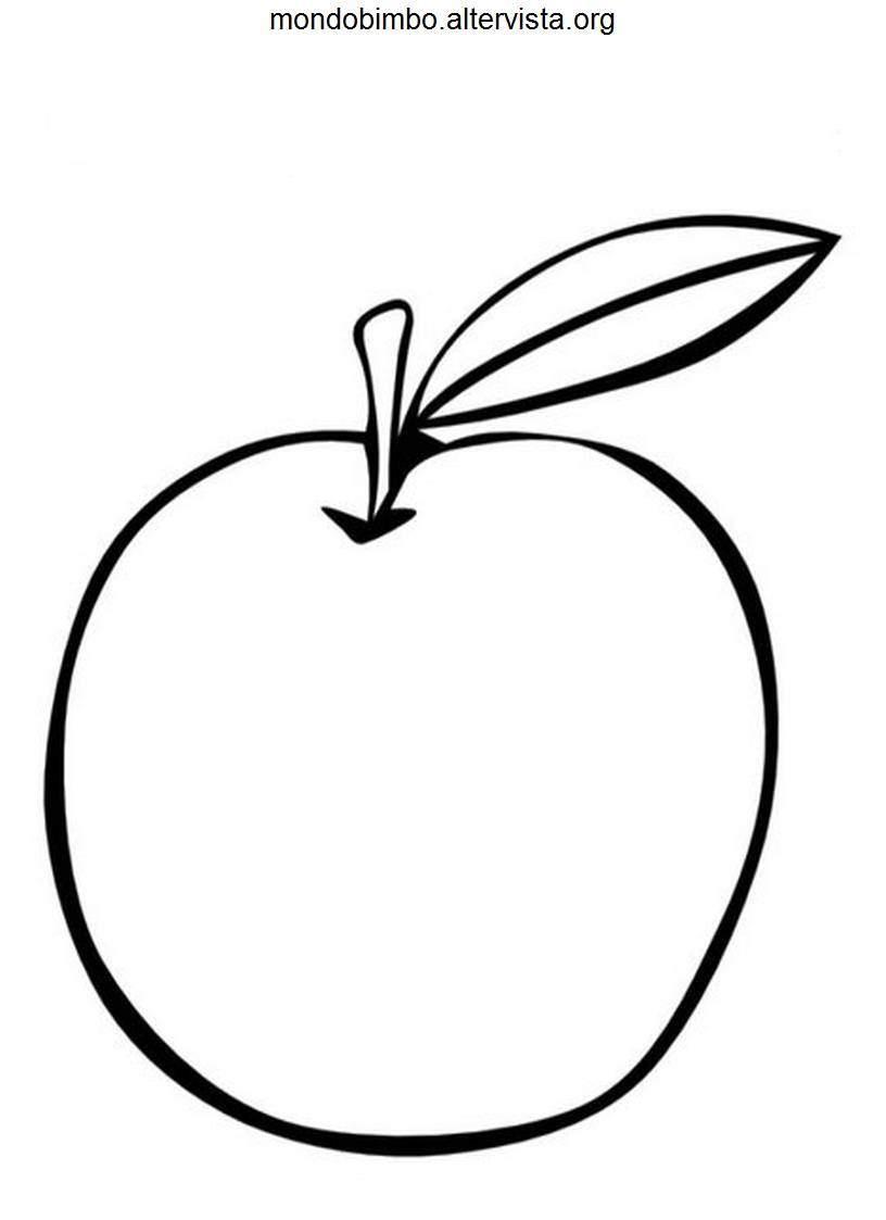 Frutta Da Colorare Mondo Bimbo