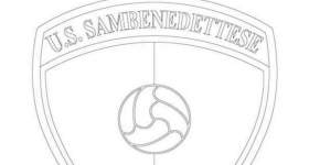 disegno logo squadra calcio colorare sambenedettese